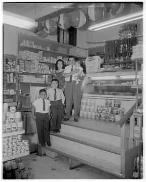 Blanco's Family Market, 1962