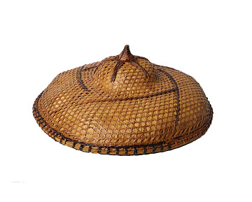 Chinese laborers' hat, about 1900