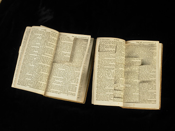 Bibles used to create The Life and Morals of Jesus of Nazareth