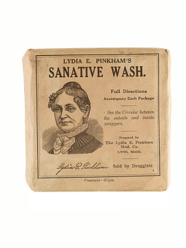 Lydia Pinkham wash soap, about 1920