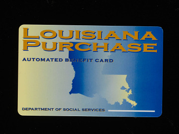 Electronic benefit card, 2004