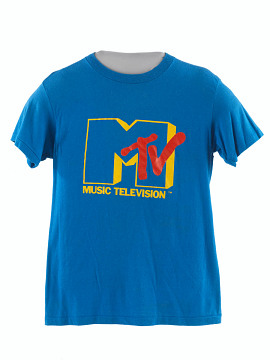 MTV T-shirt, 1980s