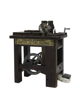 Patent model, sole-cutting machine, patented 1843