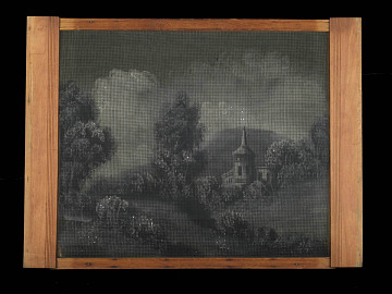 Window screen, 1888
