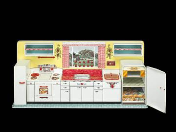 Pretty Maid toy kitchen, 1950s