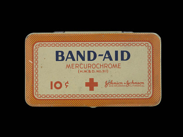 Band-Aid package, 1920s
