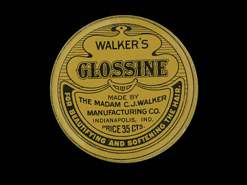 Madam Walker's Glossine for