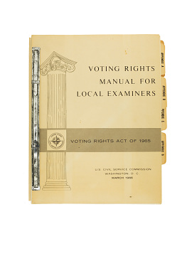 Voting rights manual, 1966