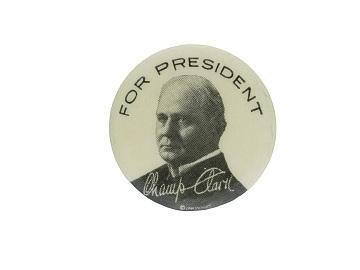 Clark campaign button, 1912