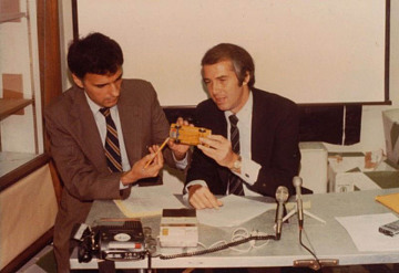 Ralph Nader and Byron Bloch, 1978
