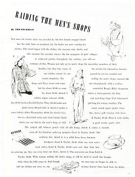 Fashion Magazine, 1940