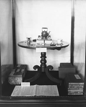 National American Woman Suffrage Association (NAWSA) display, around 1925