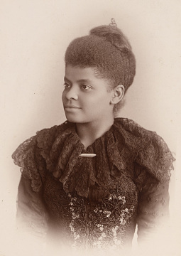 Ida B. Wells-Barnett, around 1893