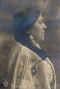 Marie Louise Bottineau Baldwin (Métis/Turtle Mountain Ojibwe), around 1911