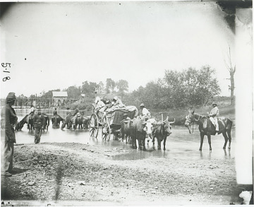 """Fugitive Slaves Crossing the Rappahannock River, Virginia in August, 1862"""