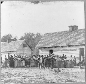 J.J. Smith's Plantation, Beaufort, South Carolina, 1862