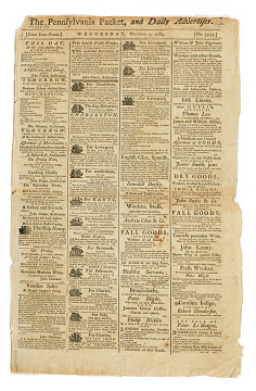 Pennsylvania Packet, 1789