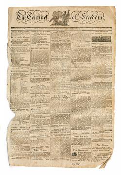 Sentinel of Freedom, 1811