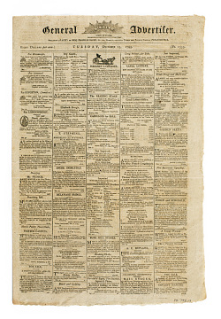Aurora General Advertiser, 1795