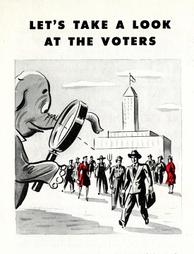 """Let's Take A Look at the Voters,"" 1948"