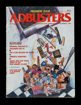 AdBusters Premiere Issue, 1989