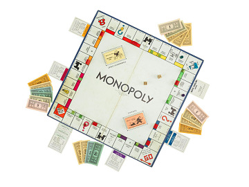 Monopoly board game, 1940s