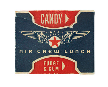 Mars air crew package, 1940s