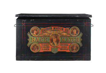 Four Races Matches, display box, 1870-1879