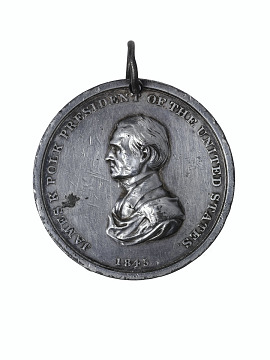 Peace medal, early to mid-1800s