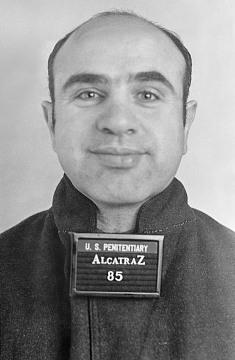 Al Capone mug shot, 1934