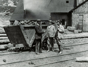 Managers, Kohinoor mine, Shenandoah, Pennsylvania, 1884