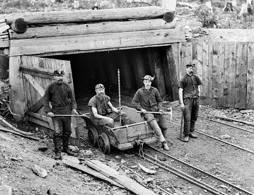 Workers, Kohinoor mine, Shenandoah, Pennsylvania, 1884