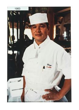 Chef Shigefumi Tachibe, 1983