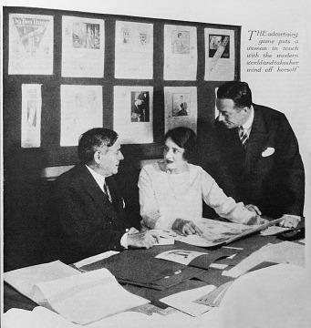Helen Rosen Woodward, 1920s
