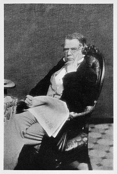 Volney B. Palmer, about 1860
