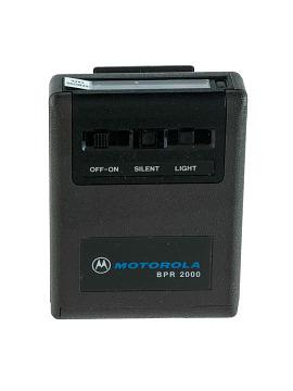 Motorola Bravo BPR 2000 pager, 1982
