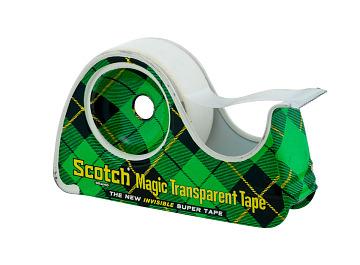 Scotch Magic Transparent Tape, 1960s