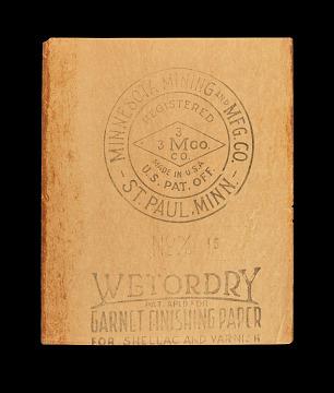 Wetordry sandpaper, 1923