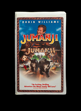 Jumanji VHS tape, 1996
