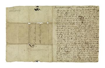 Letter, 1769