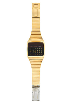 Hewlett Packard calculator watch, 1977