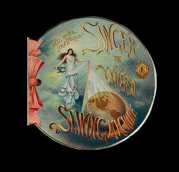 Singer ad, 1901
