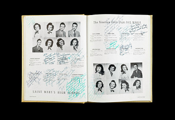 Yearbook, Ave Maria High School, 1947–1948