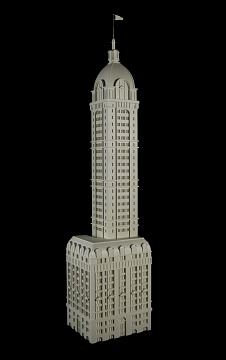 Model of Singer Tower, New York City, 1908