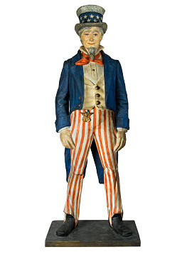 Uncle Sam figure, Early 1900s
