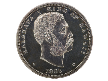 Coin of the Hawaiian Kingdom, 1800s