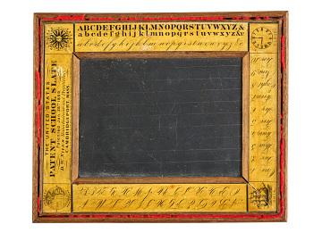 Student slate, 1870–1885