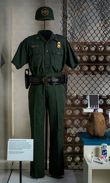 Clothing worn by Border Patrol agents