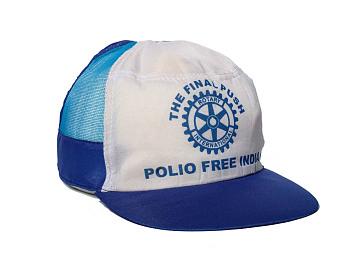 Polio Eradication Campaign Cap, around 2002