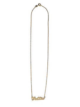 Nameplate Necklace, 2010s